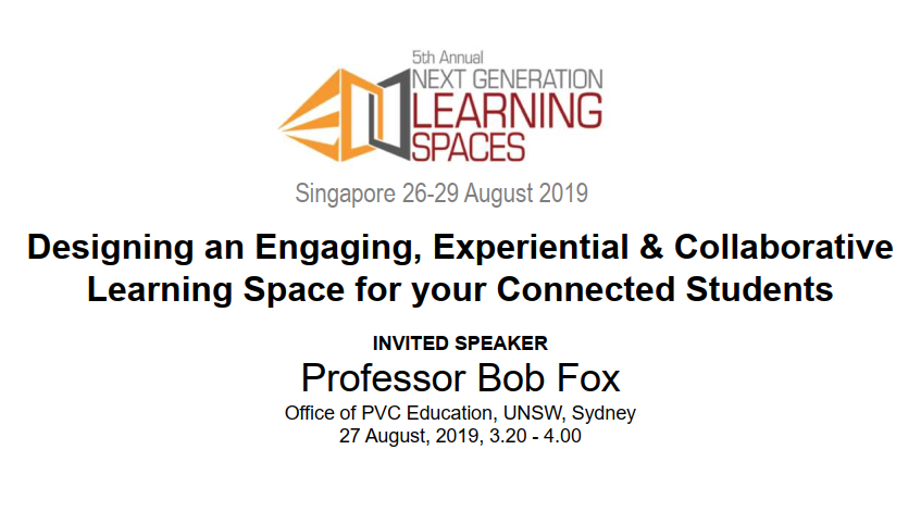 [Past Speaker Presentation] Designing an Engaging, Experiential & Collaborative Learning Space for your Connected Students