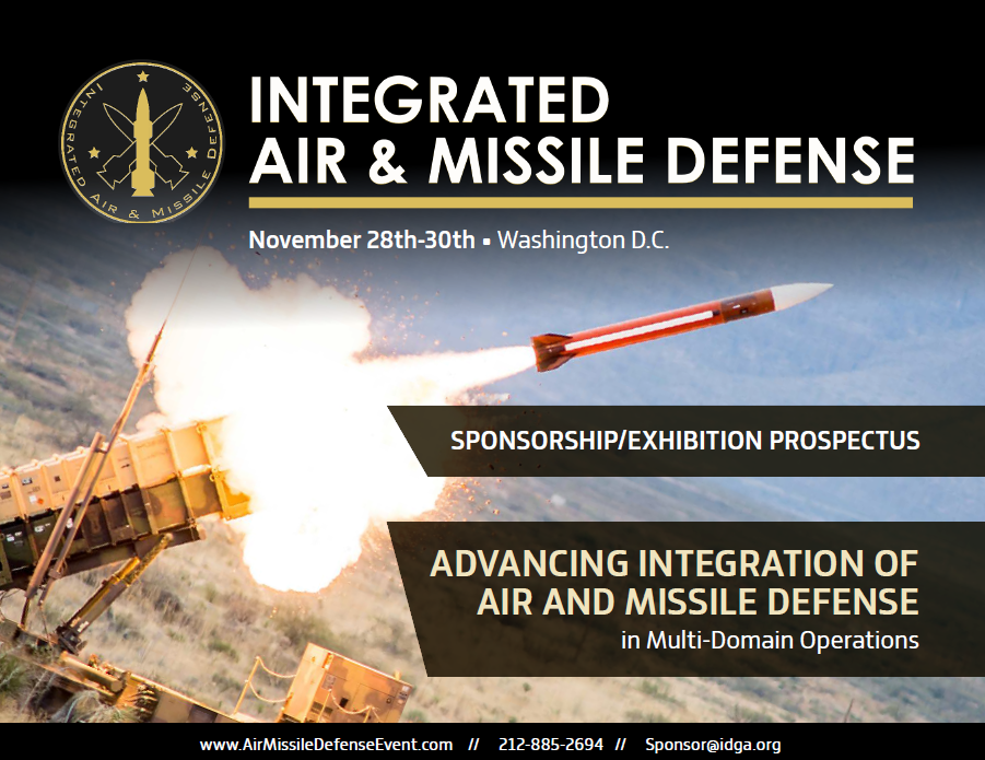 Integrated Air and Missile Defense Sponsorship Prospectus