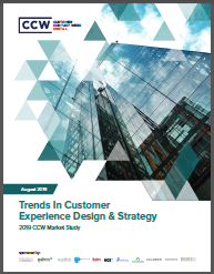 Market Study: Trends In Customer Experience Design & Strategy