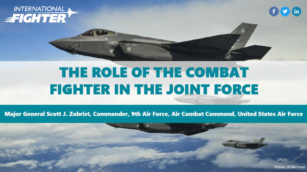 Past presentation: The role of the combat fighter on the joint force