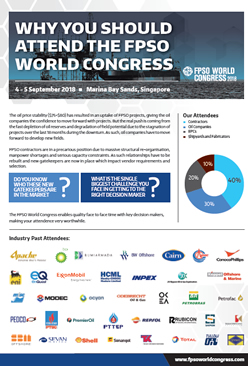 Why you should be at the 19th FPSO World Congress