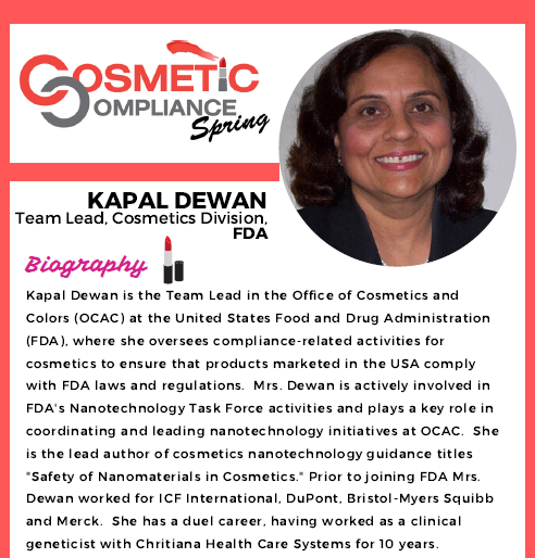 FDA at Cosmetic Compliance: Kapal Dewan Information Session