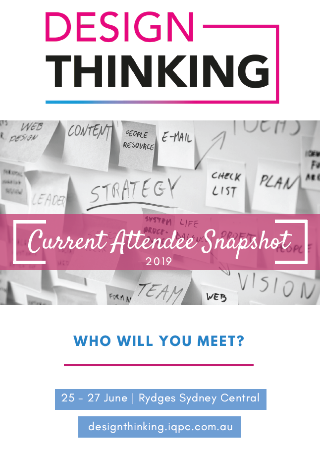 Design Thinking 2019 Attendee Snapshot