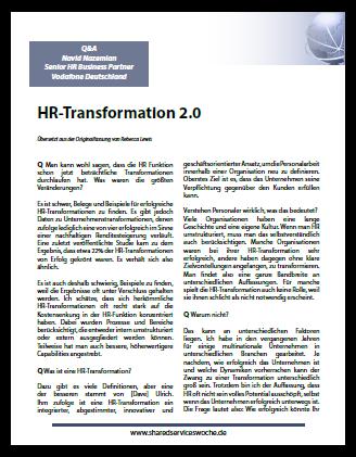 Interview mit Herrn Nazemian von Vodafone zum Thema HR-Transformation 2.0