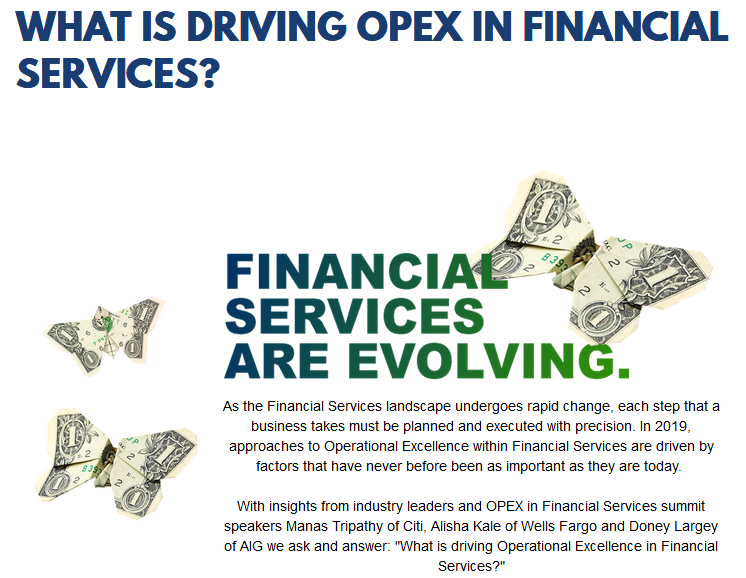 OPEX in Financial Services 2019 - spex - What is driving OPEX in FS