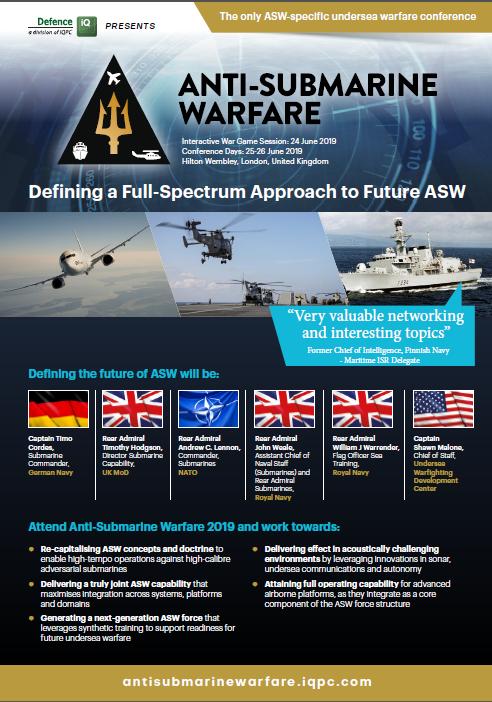 Anti-Submarine Warfare 2019 Event Guide