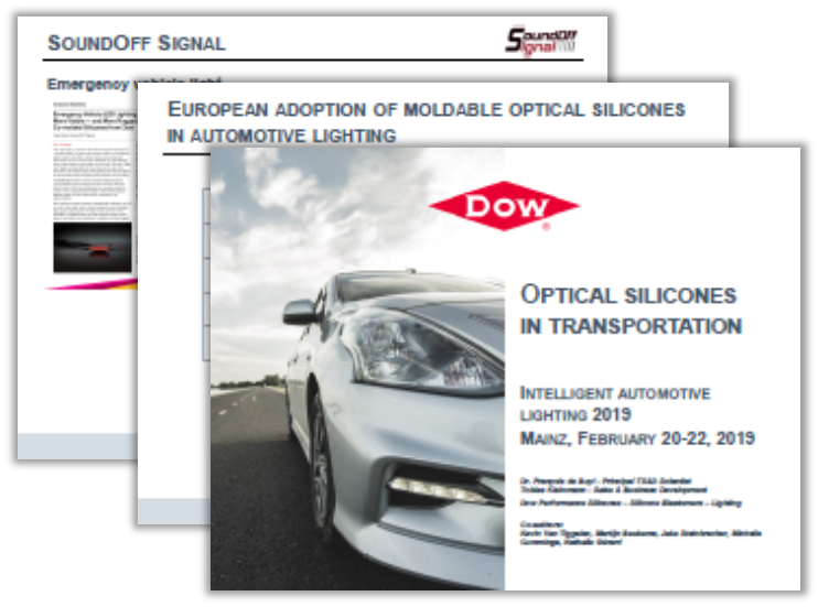 Dow Silicones Presentation: Optical Silicones in Transportation