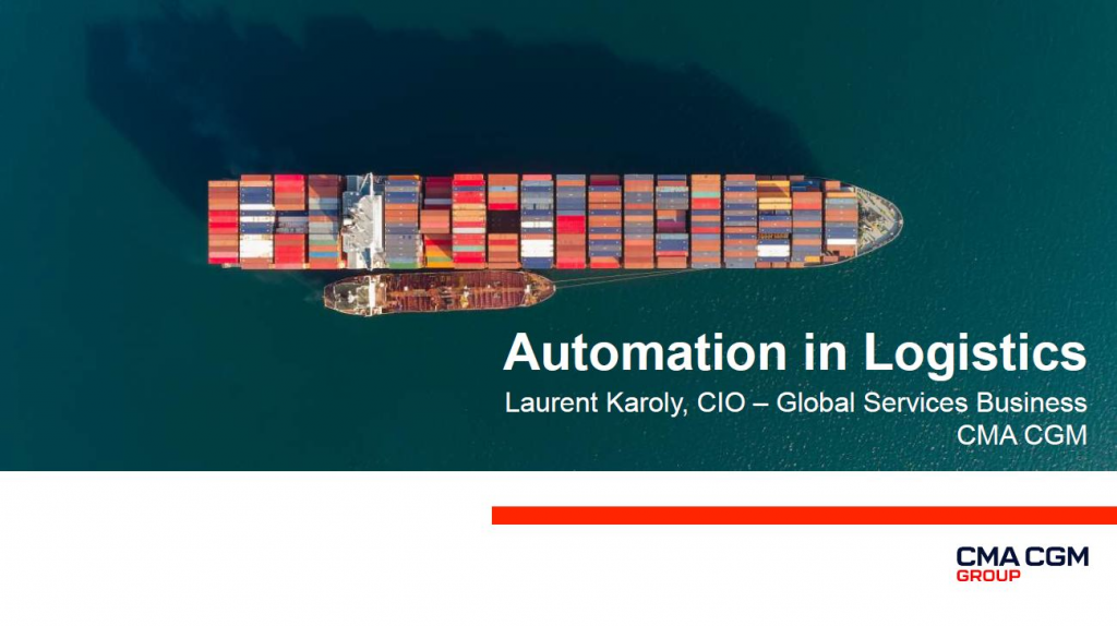 View the Past Presentation - Automation in Logistics