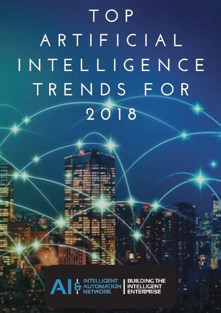 Top artificial intelligence trends for 2018