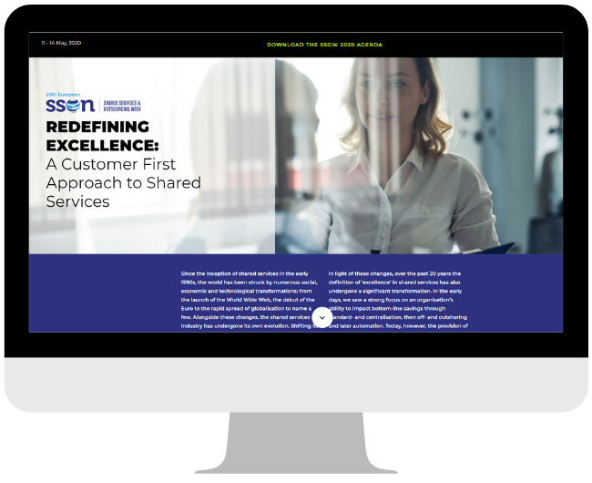 Redefining Excellence: A Customer First Approach to Shared Services