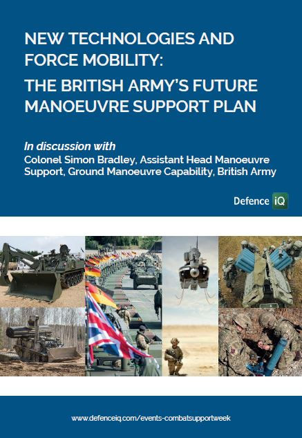 New technologies and force mobility: The British Army's Future Manoeuvre Support Plan