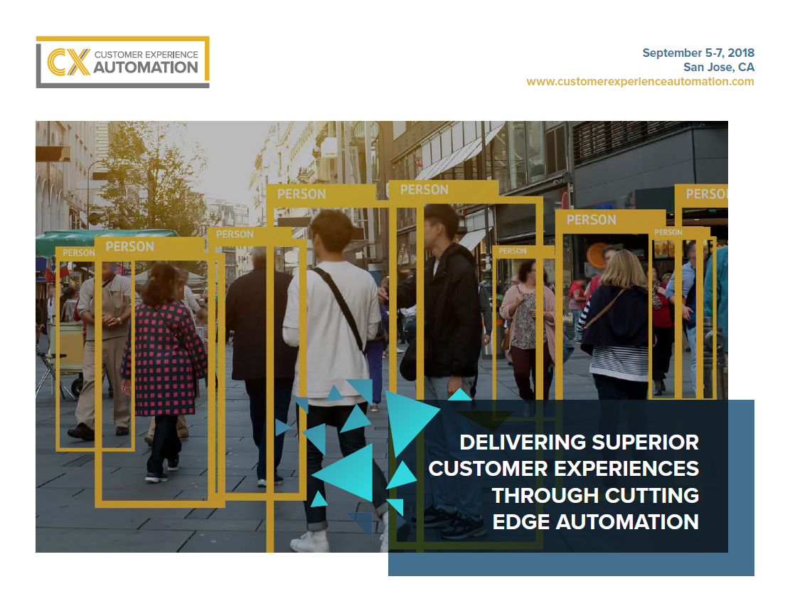 2018 Customer Experience Automation Sponsorship Brochure