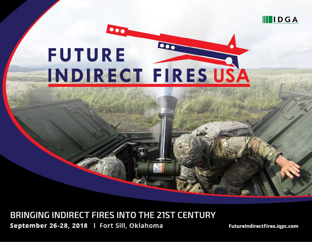 View the full event outline - Future Indirect Fires Summit 2018