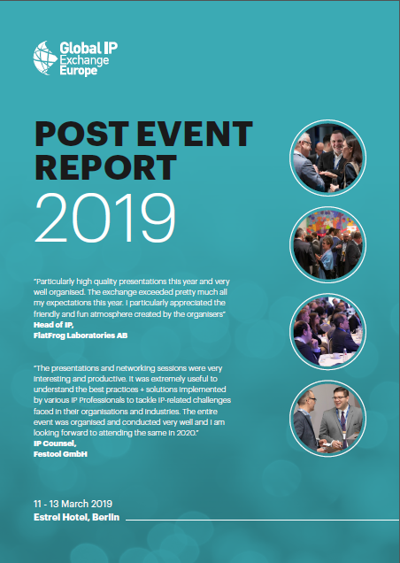 Global IP Post Event Report 2019