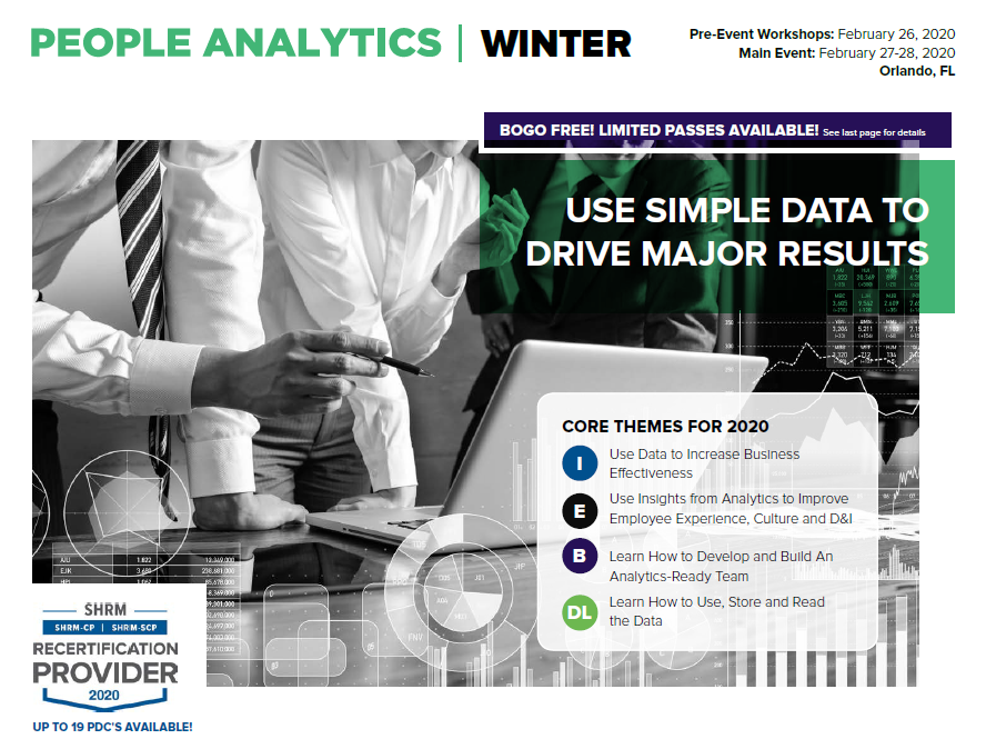 People Analytics Winter 2020 Official Event Guide