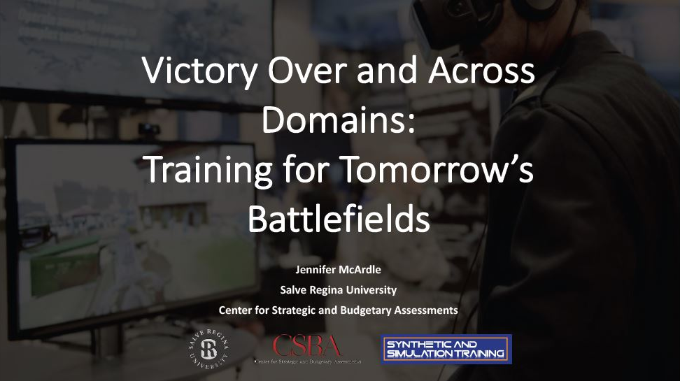 Victory Over and Across Domains: Training for Tomorrow's Battlefields