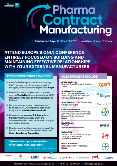 Download The Agenda | Pharma Contract Manufacturing