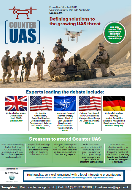 Download the Event Guide l Counter UAS Conference