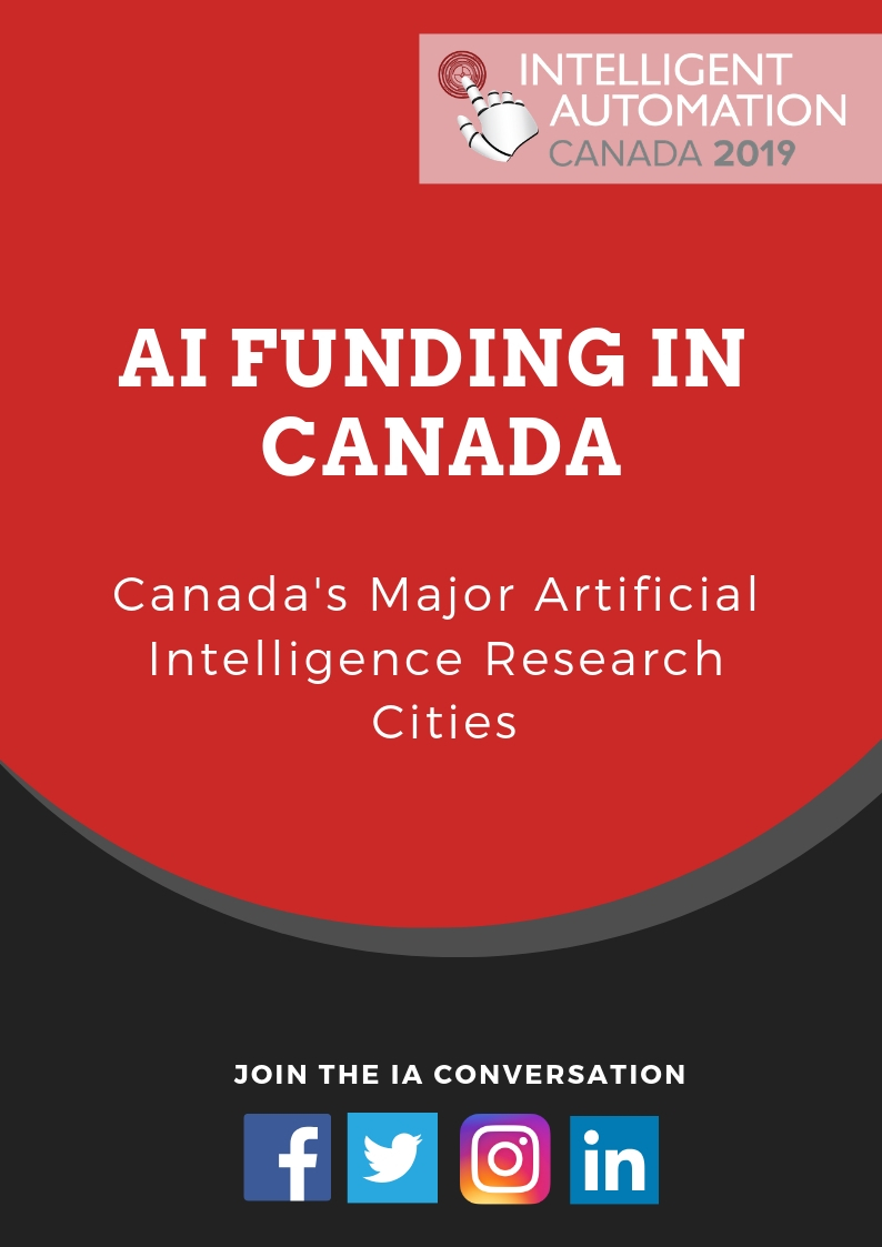 AI Funding in Canada & its Major Research Cities