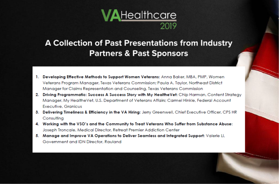 A Collection of Past Presentations from Industry Partners & Past Sponsors