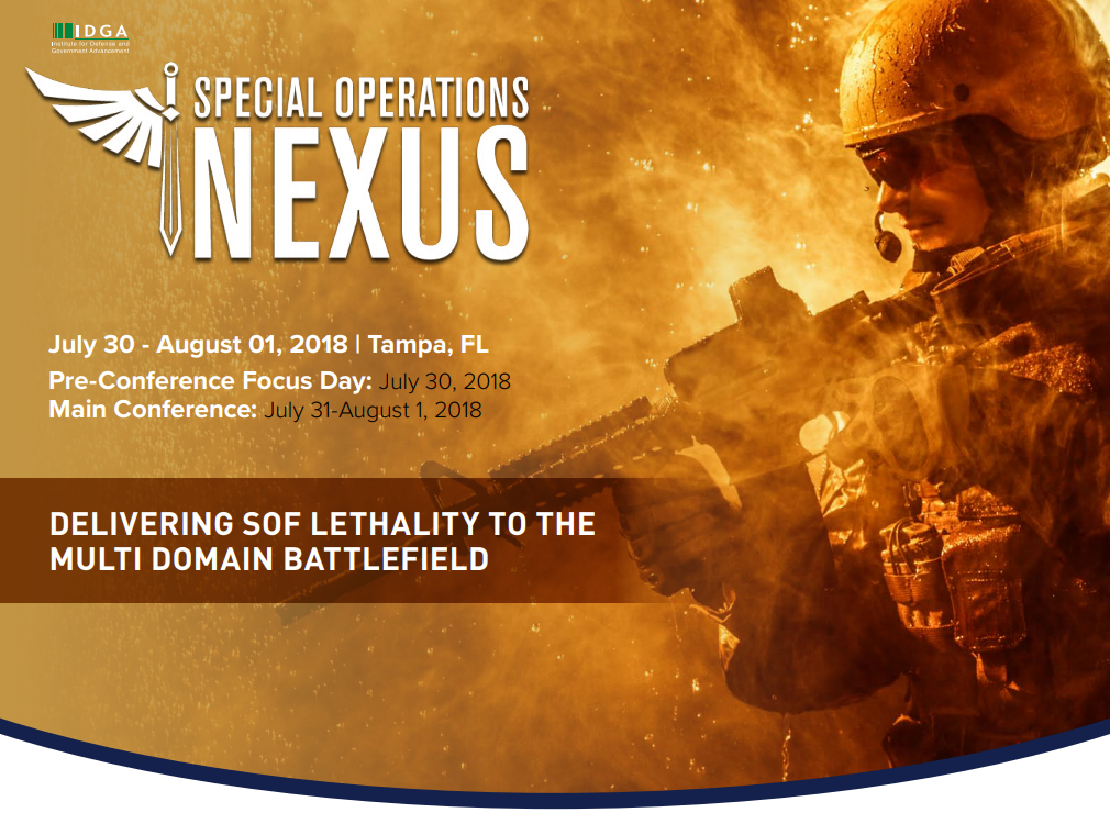 Special Operations Nexus - Check out the Agenda!