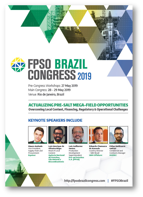 View FPSO Brazil Congress 2019 Brochure
