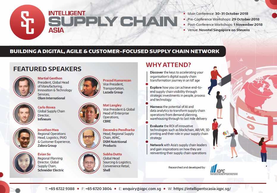 Intelligent Supply Chain Asia Brochure