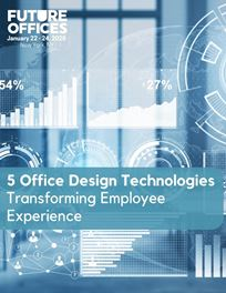 5 Workplace Design Technologies Transforming Employee Experience