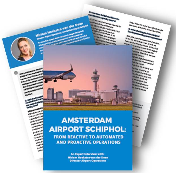 Interview with Director of Airport Operations of Amsterdam Airport Schiphol on AI