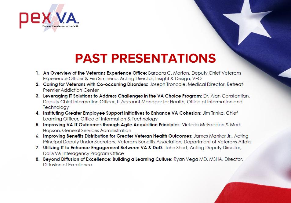 PEX VA 2017 Presentation Packet