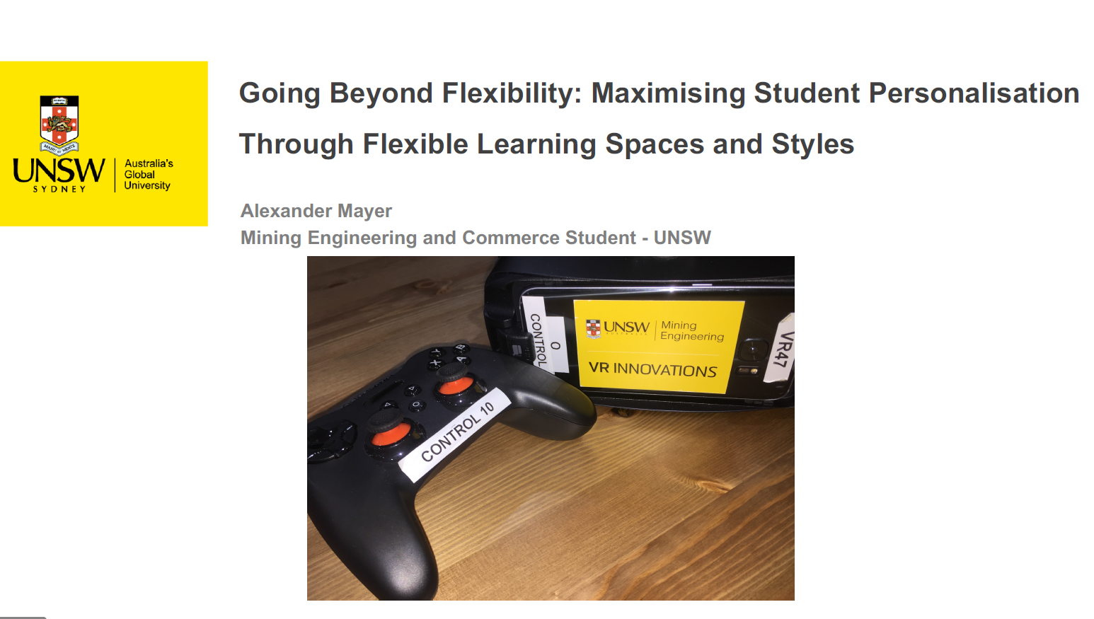 Going Beyond Flexibility: Maximising Student Personalisation through Flexible Learning Styles and Spaces