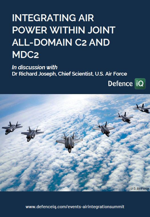 Integrating air power within joint all-domain C2 and MDC2: Insights from Dr Richard Joseph, USAF