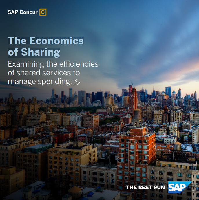 Shared Services The Economics of Sharing – examining the efficiencies of shared services to manage spending