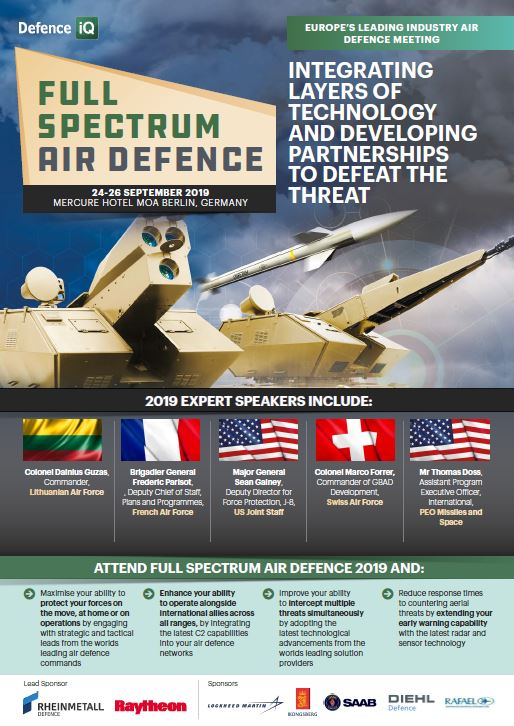 Full Spectrum Air Defence - Download the latest programme
