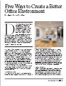 Five Ways to Create a Better Office Environment