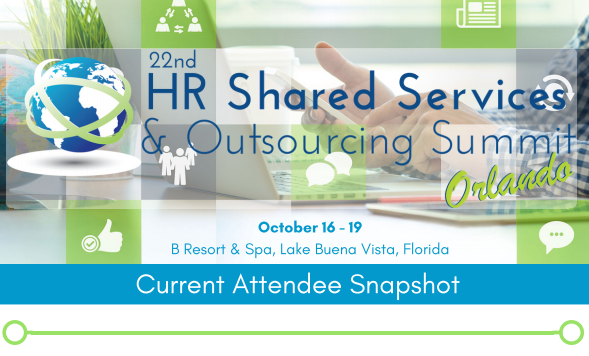 24th HR Shared Services & Outsourcing Fall - Current Attendee Snapshot