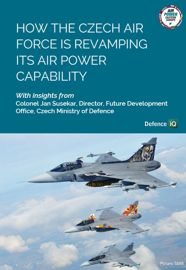 How the Czech Air Force is revamping its Air Power Capability