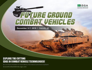 Future Ground Combat Vehicles 2018 Event Guide