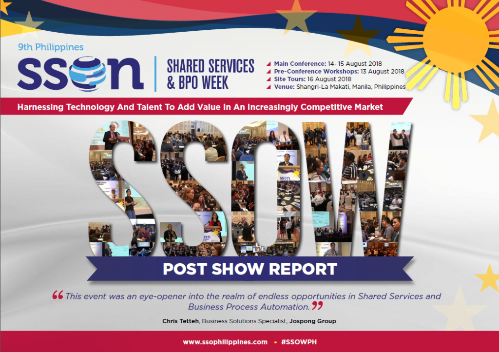 View Post Show Report - Philippines Shared Services & BPO Week
