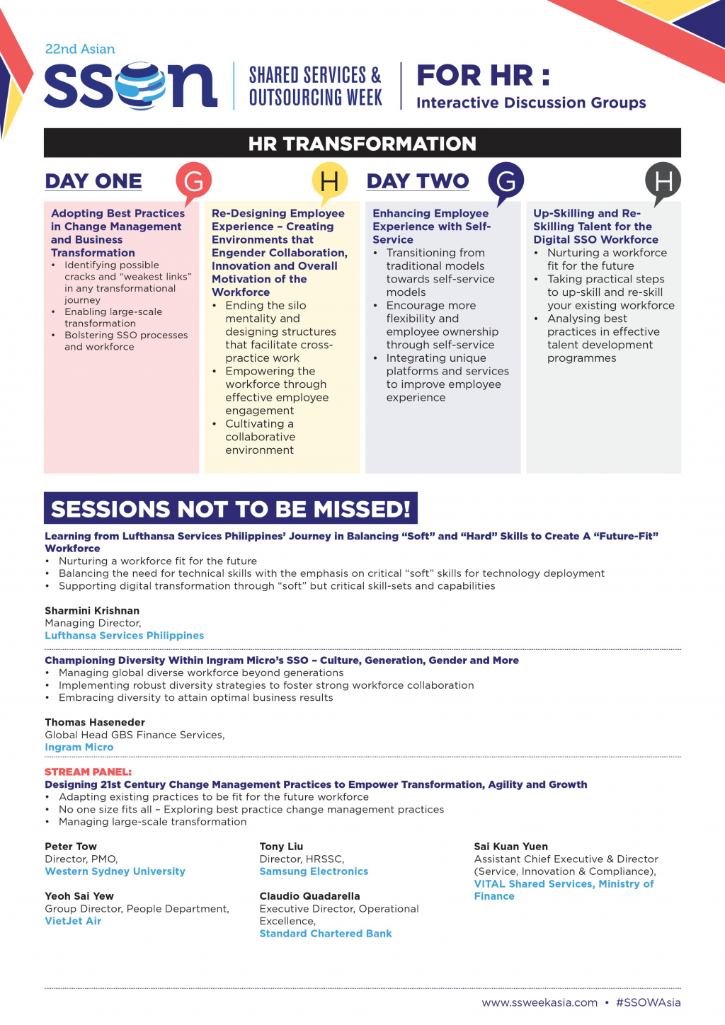 HR Transformation Flyer