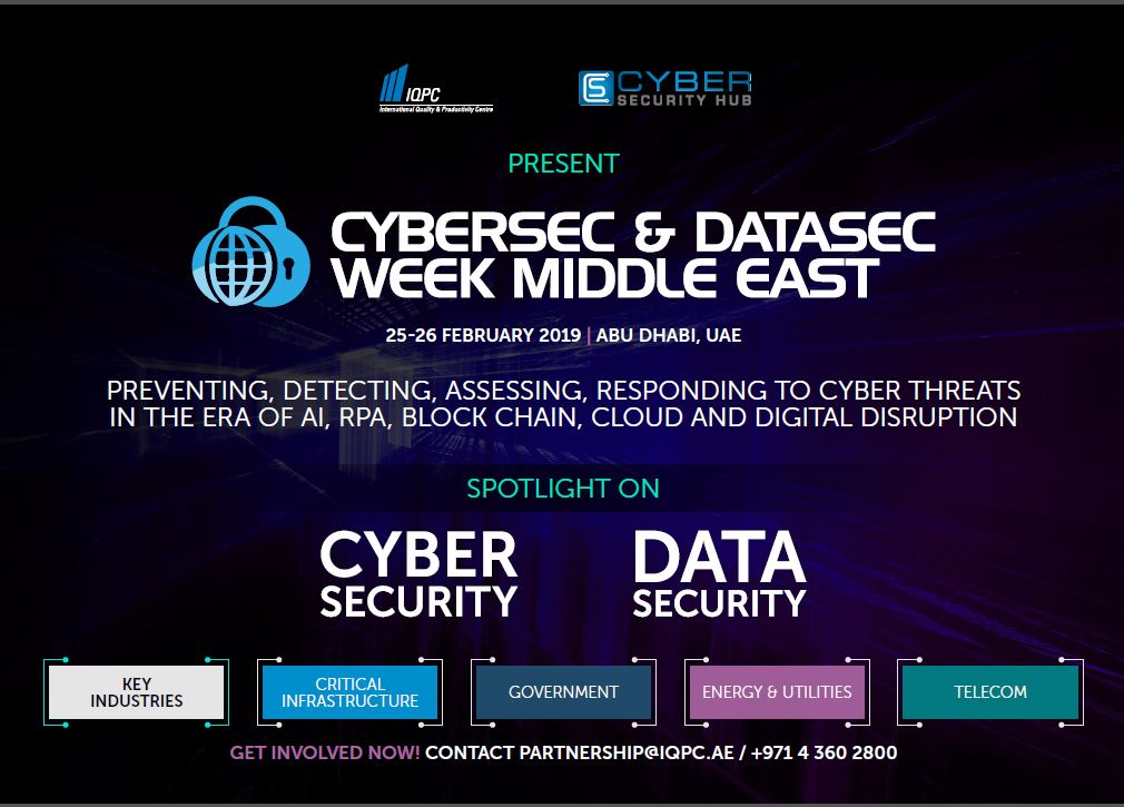 Sponsorship Prospectus: 8th Annual Cyber Security and Data Security Forum