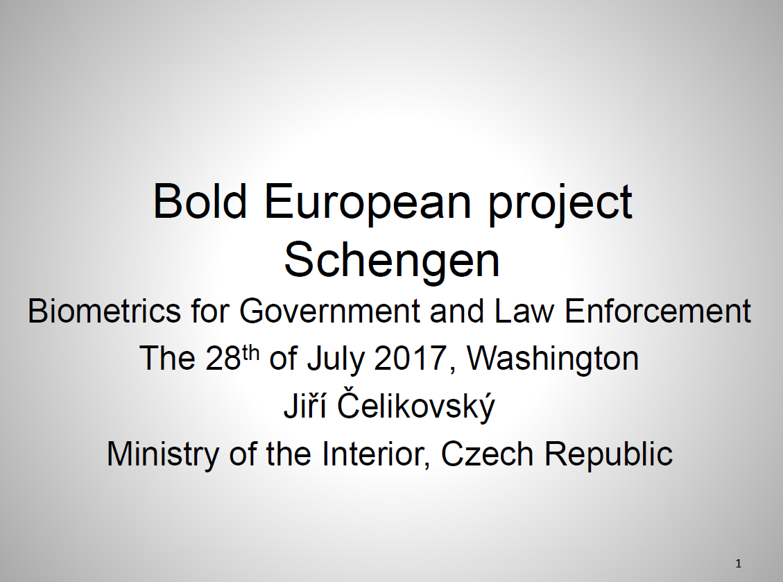 Innovating Schengen Architecture to Meet the Priorities of Member States