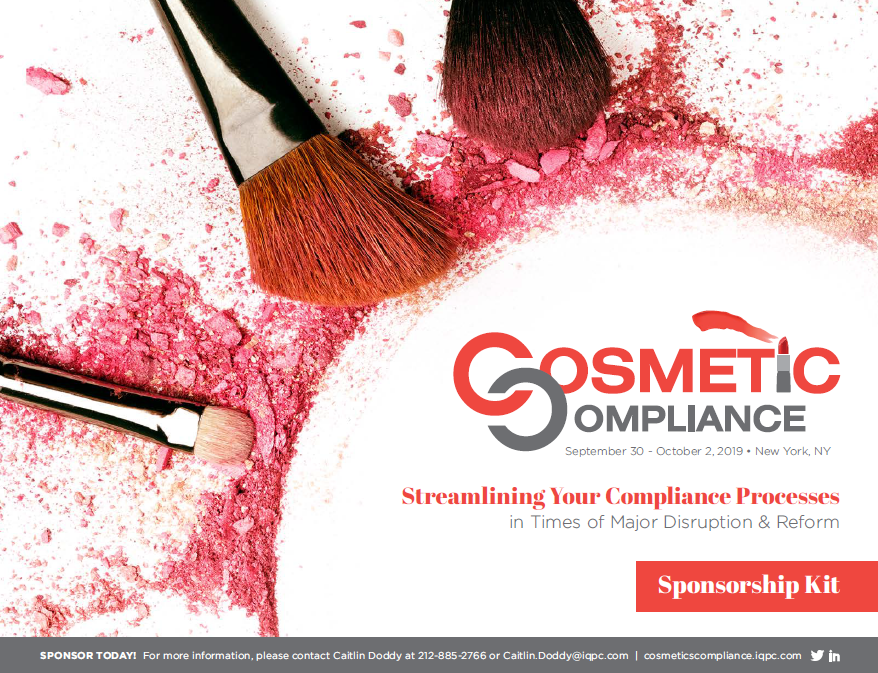 Cosmetic Compliance Sponsorship Kit 2019