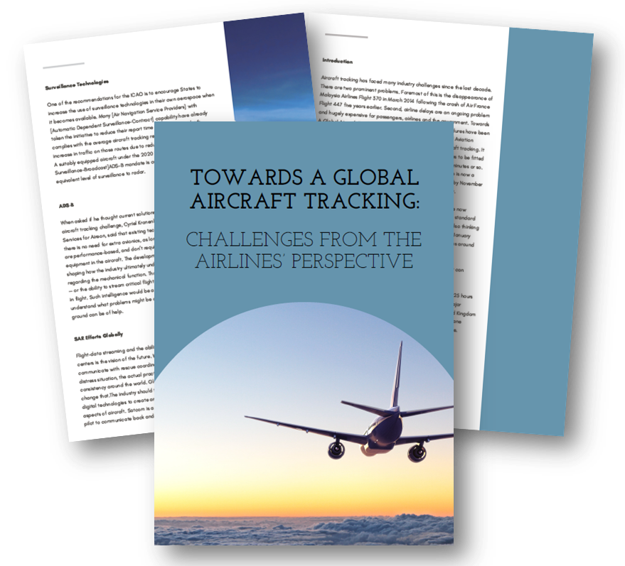 Towards a global aircraft tracking: Challenges from the airlines' perspective