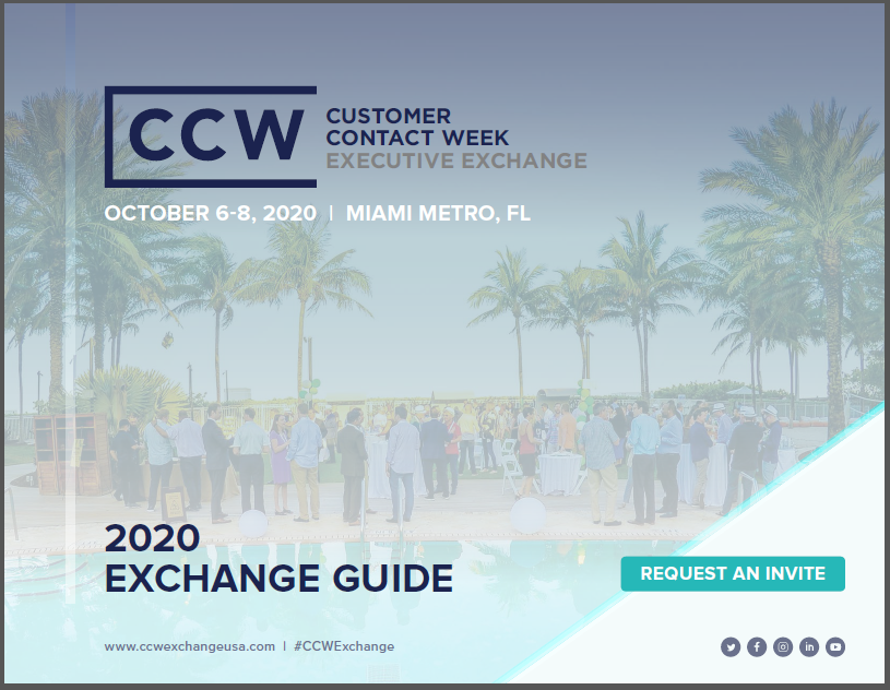 View Full Event Agenda | CCW Executive Exchange Miami 2020