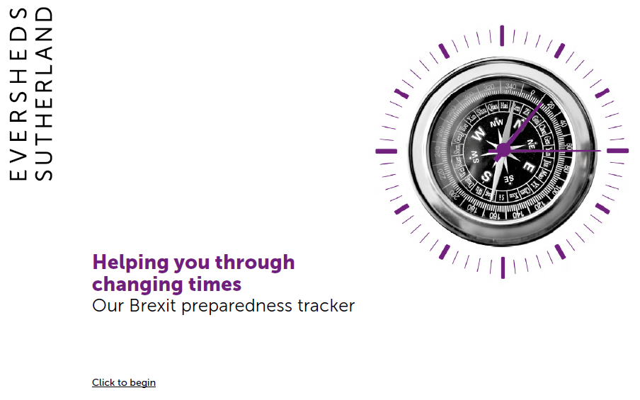 Eversheds Brexit Preparedness Tracker