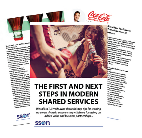 The First and Next Steps in Modern Shared Services