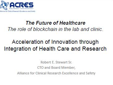The Future of Healthcare: The role of blockchain in the lab and clinic