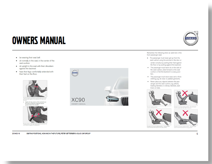 Partner Content – Free Volvo Presentation: Innovation Automotive Seating