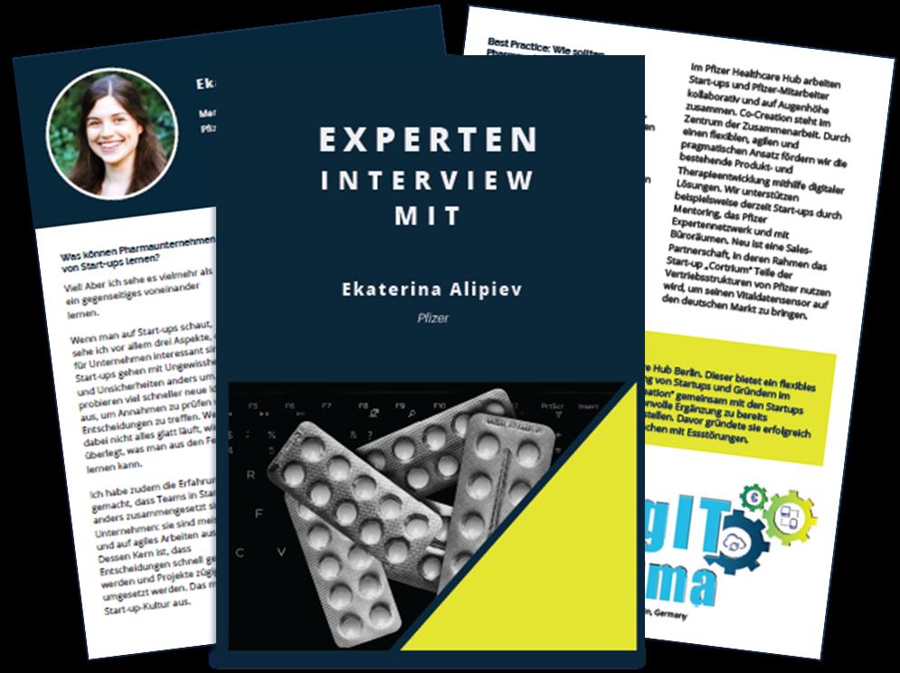 Experteninterview mit Ekaterina Alipiev - Pfizer